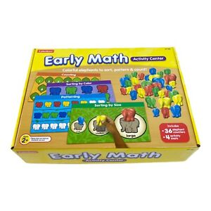 Learning Resources Early Math Activity Center Complete Educational Toy Yrs 2 +