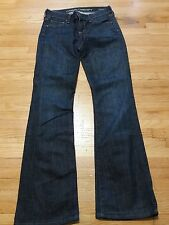 CITIZENS OF HUMANITY Jeans Sz 25 DITA Petite Bootcut Women's Denim Dark Wash
