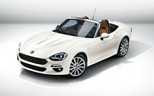 "Fiat 124 Spider 2017 Auto Car Art Silk Wall Poster - 24x36"" inch"