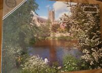 Falcon Deluxe Worcester Cathedral 2000 Rare Piece Jigsaw Puzzle New Sealed