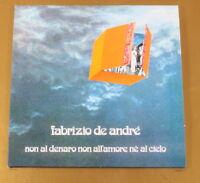 DE ANDRE' - NON AL DENARO NON ALL'AMORE NE' AL CIELO - OTTIMO CD [AC-078]