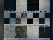 Stacey's Masonry 1:12 Miniature Real Marble & Stone Luxury Flooring Sample Pack