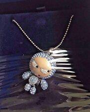 Swarovski Crystal Pendant Necklace Light Blue ELIOT 1084490 NIB