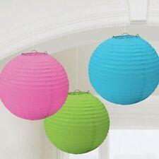 Décorations de fête lanternes multicolore pour la maison toutes occasions