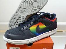 Nike Dunk Low Dark Obsidian Rainbow Tie Dye 312490-441 SZ 9 Flash supreme SB