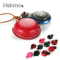 Red Leather Remote Key Fob Case Cover Shell For MINI Cooper Clubman Countryman