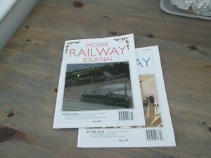 Model railway Journal 203 and 204  from 2011, post free UK