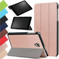 """Leather Slim Smart Case Stand Cover For Samsung Galaxy Tab A 8.0"""" 2017 T380 T385"""