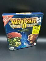 WarCraft 2 II: Tides of Darkness (Blizzard, 1995), PC Big Box game