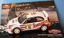 TOYOTA COROLLA WRC #18 THIRY PREVOT RALLYE MONTE CARLO 2000 IXO 1/43 ALTAYA
