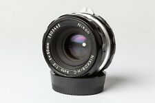 Nikon NIKKOR H-C Auto 50mm f2 Lens.   1972 Vintage Manual Focus, Nikon F Fitting