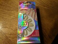 L.A. Colors Pixie Artificial Nail Tips Nail Glue Included Peaches N Cream Short