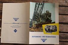 28524 Prospekt Sachsenwerk DRESDEN Niedersedlitz Hüttenwerks- u. Kran-Motoren