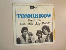 "TOMORROW: (w/Steve Howe Of Yes) Revolution-Sweden 7"" 1967 Parlophone R 5627 PSL"