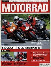 Motorrad 17 2000 Yamaha XP 500 Bimota DB4 Laverda 750 S Cagiva Raptor KTM 520EXC