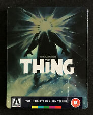 The Thing - UK Arrow Video 4k Restoration HD Blu-ray Steelbook Limited Edition