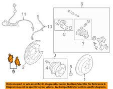 SUBARU OEM 15-16 Legacy Brake-Rear Pads 26696AL01A
