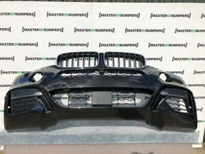 BMW X6 M SPORT F16 2014-2018 FRONT BUMPER IN BLACK GENUINE [B619]