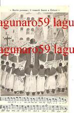 Rarità paesane;  il venerdi Santo a CELANO ( L'Aquila /  Abruzzo )