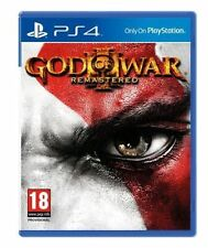 God of War III 3 Remastered PAL Sony PlayStation 4