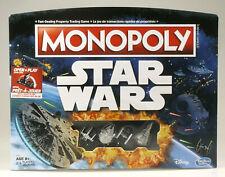 PRL) LUCAS STAR WARS EDITION MONOPOLY MONOPOLI OPEN PLAY DISNEY HASBROGAMING