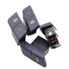 5pcs LHD Audi A4 Door Lock Switch For AUDI S4 B6 B7 RS4 8E1962107 8ED962107