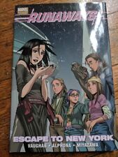 Runaways Escape To New York. Graphic Novel (Hardcover). Fast Shipping.