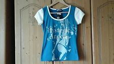 Hysteric glamour top with collectors badge size approx 8/10/12 BNWT free post!