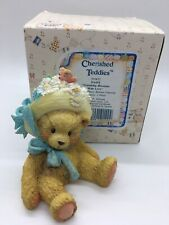 """New ListingRare Cherished Teddies """"Daisy""""Retired from 1992 with Box #910651"""