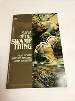 Saga Of The swamp Thing (1987) (NM) | Warner Book | 1st print Alan Moore
