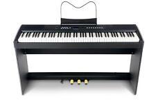 Piano compact numérique 88 touches mécanique à marteaux 3 Pédales réglable