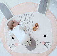 Soft Cotton Baby Game Play Gym Activity Pad Play Mat Crawling Blanket Floor Rug
