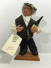 Debbie McIntire sculpted/handcrafted Gentlemen with Champagne Doll