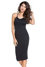 Boldgal Black Party Midi Western Women Fashion One-Piece Dress