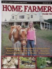 Home Farmer  SOFTCOVER colour self sufficiency house cow worm farm permaculture