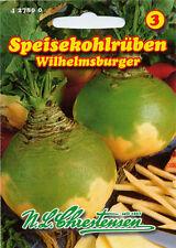 Kohlrüben 'Wilhelmsburger' - Brassica napus, Rüben Speiserüben Samen 427800