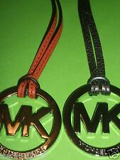"Michael Kors MK Handbag Charm/Key Fob, with assorted colors leather 6""-6.5""long"