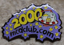 McDonalds 2000 McDclub McDclub.com Collectible Pinback Pin Button