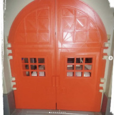 Replacement Firehouse Door Set for Kenner Ghostbusters Firehouse - 3D Custom Set