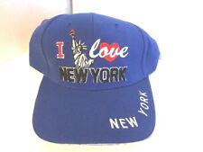 Vintage NWT I Love New York Hat Adjustable Strap Back MX Cap Free Shipping