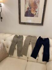 Lands End girls chino pants uniform lot size 5