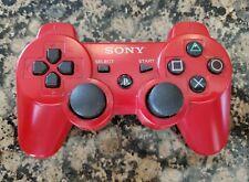 Genuine OEM Sony Playstation 3 PS3 Sixaxis DualShock 3 Gamepad - Red CECHZC2U