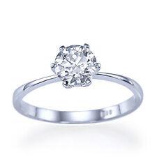 Anelli con diamanti naturali e excellent