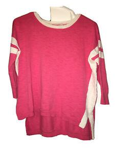 Jcrew xxs Shirt Women Pink Long Sleeved Pullover