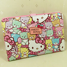 HelloKitty Bear  Stand Case Bag Cover Skin Pouch Protective Shell For Mini Ipad