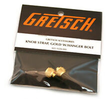 Gretsch Genuine Gold Knob Strap button kit with Hanger Bolt 9221029000