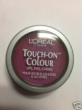 L'Oreal Touch-On Colour For Lips + Eyes & Cheeks ( FANATIC FUSCHIA ) New.