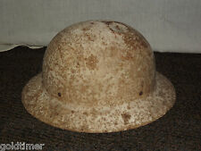 VINTAGE OLD  WWII US GOVERNMENT  PROPERTY OCD  OFFICE OF CIVIL DEFENSE HELMET
