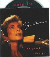 MARGRIET ESHUIJS Sometimes 2 TRACK CARDslv CD SINGLE LUCIFER maarten peters