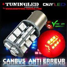 2 AMPOULE 27 LED ROUGE SMD CULOT P21/5W 1157 BAY15D 2 PLOTS ANTI SANS ERREUR ODB